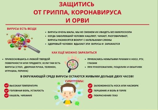 Защитись от гриппа,короновируса и ОРВи
